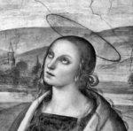 Perugino: detail tváře Máří Magdalény