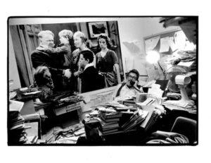 Hentoff VV Office 1985