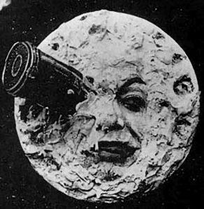 Tvář Měsíce podle Georgese Mélièse