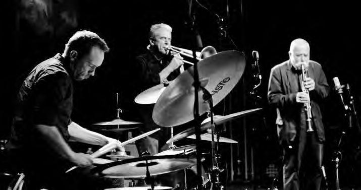 Trio Nilssen-Love, Swell, Brötzmann (Foto Patrick Marek)