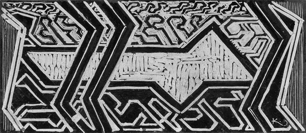 František Kupka, z Příběhů bílé a černé, 1925