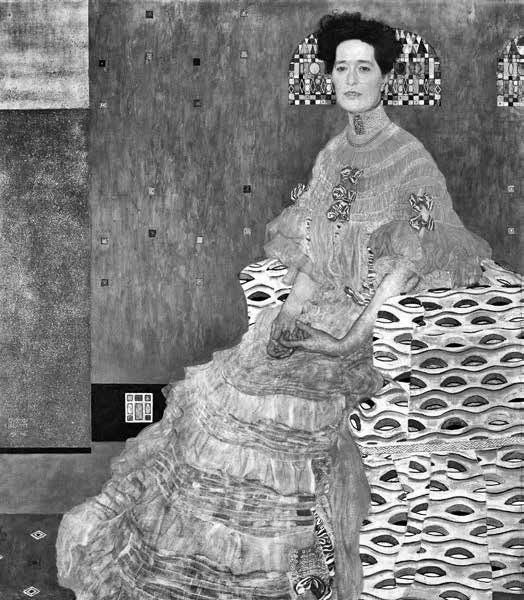 Gustav Klimt, Fritza Riedler, 1906
