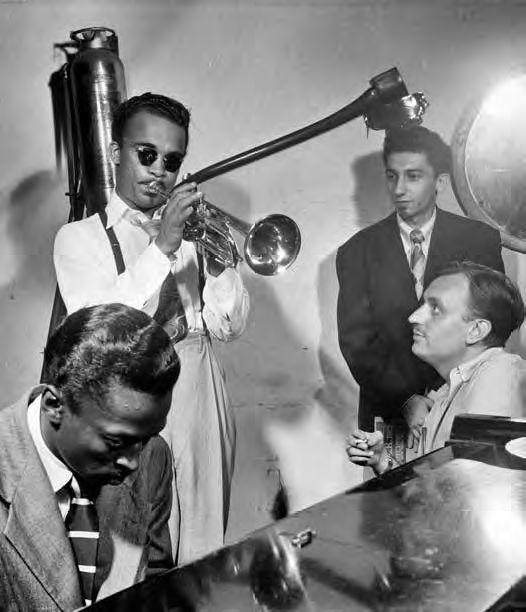 Howard McGhee, Brick Fleagle a Miles Davis, září 1947